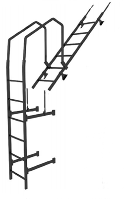 лестницы кровельная Металл Профиль купить в перми