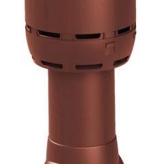 Вентиляционный выход Vilpe Flow 125-ИЗ-700 RR29 красный