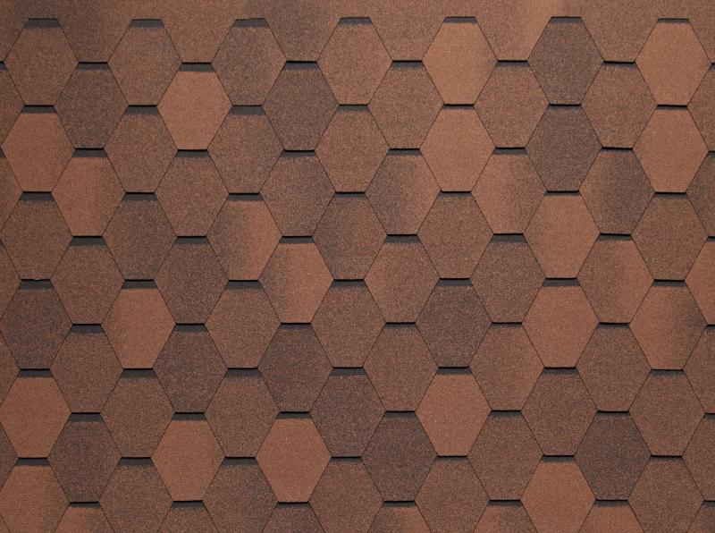 гибкая черепица тегола нордленд нордик коричневый с отливом