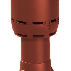 Вентиляционный выход Vilpe Flow 125-ИЗ-500 RR29 красный