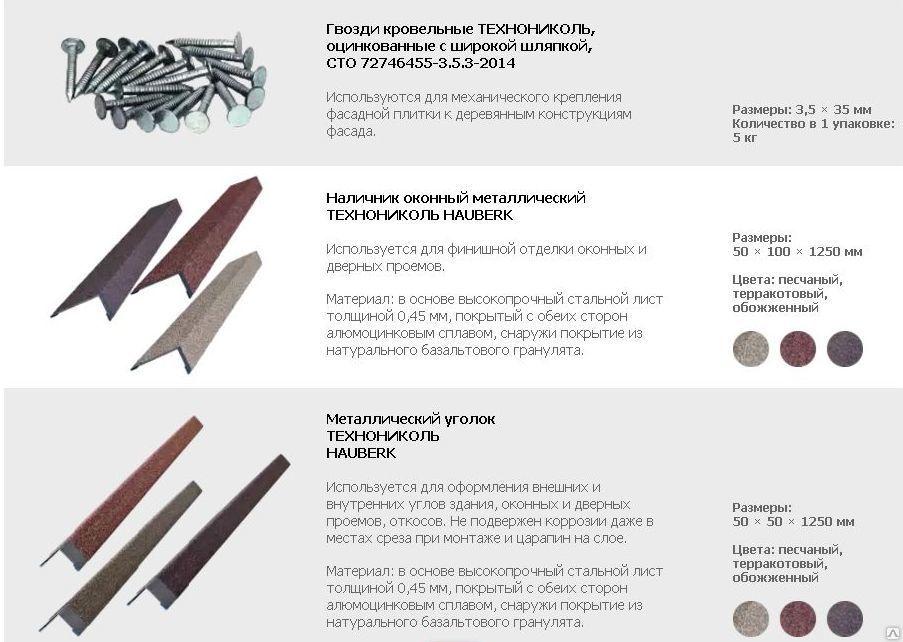 доборные элементы для Hauberk в перми