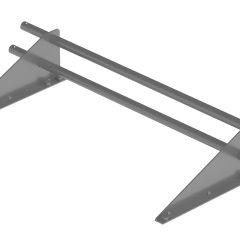 Снегозадержатель трубчатый ROOFRetail длина 1000 мм RAL 7004