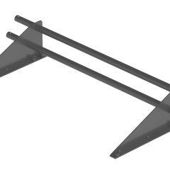 Снегозадержатель трубчатый ROOFRetail длина 1000 мм RAL 7024