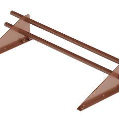 Снегозадержатель трубчатый ROOFRetail длина 1000 мм RAL 8004