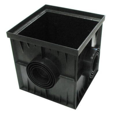дождеприемник пластиковый 300х300х300мм GidroGroup