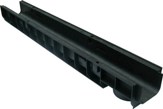 Лоток водоотводный пластиковый Standart 1000х145х100мм DN100