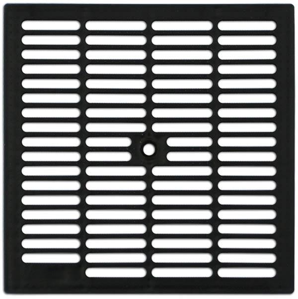 Решетка водоприемная стальная пластиковая для дождеприемника PB 280х280мм